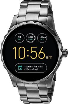 Fossil Q Marshal Gen 2 Smoke Stainless Steel Touchscreen Smartwatch