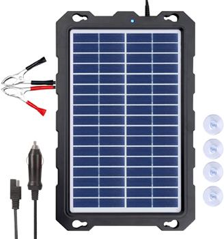 POWOXI - Solar Car Battery Charger