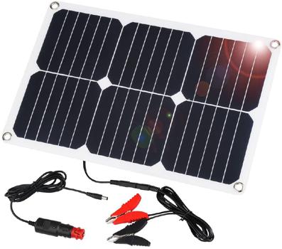 SUAOKI - Solar Car Battery Charger