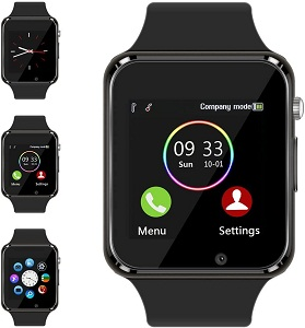 Smart Watch Compatible Samsung Android iPhone iOS for Men Women Kidsby Wzpiss
