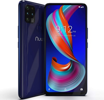 NUU Mobile G5 4G LTE - Free Touch Screen Government Phones