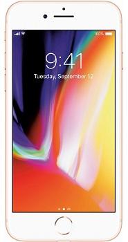 Apple iPhone 8, GSM Unlocked 4G LTE- Gold, 64GB