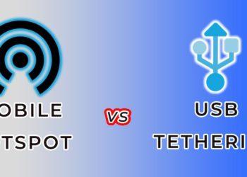 Hotspot vs. Tethering