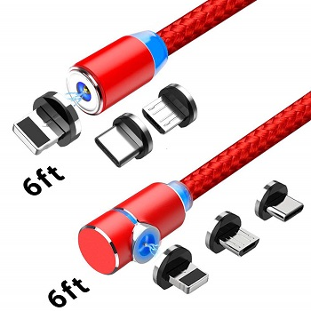 Crozziz 3 in 1 Magnetic Phone Charging Cable