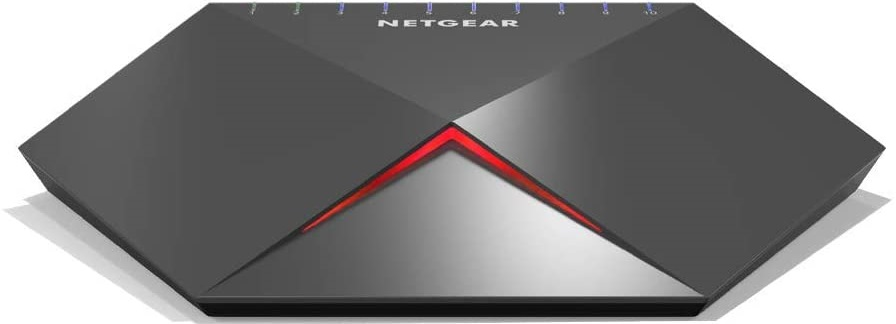 NETGEAR GS810EMX Nighthawk Pro Gaming SX10 Gigabit Ethernet 8 Ports Switch