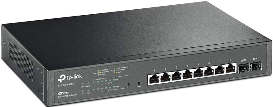 TP-Link 8 Port Gigabit PoE Network Switches for Gaming