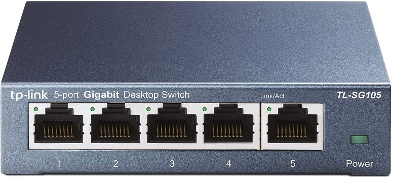 TP-Link TL-SG105 | 5 Port Gigabit Unmanaged Network Switches for Gaming
