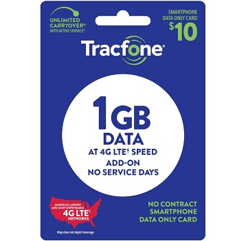 Tracfone Air Time, Data & Text Plan at Family Dollar