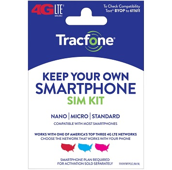 Tracfone Keep Your Own Smartphone SIM Kit at Family Dollar