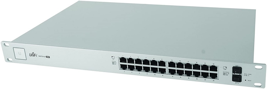 Ubiquiti UniFi Switch - 24 Ports Managed (US-24-250W), White