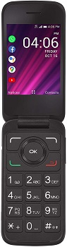 Alcatel MyFlip 2 - Safelink Flip Phones