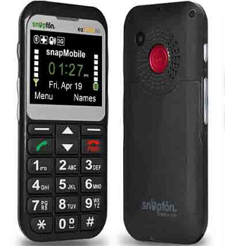 Snapfon ezTWO - Cell Phone For Limited Numbers Call