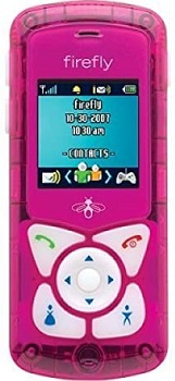 Firefly cell phone for kids